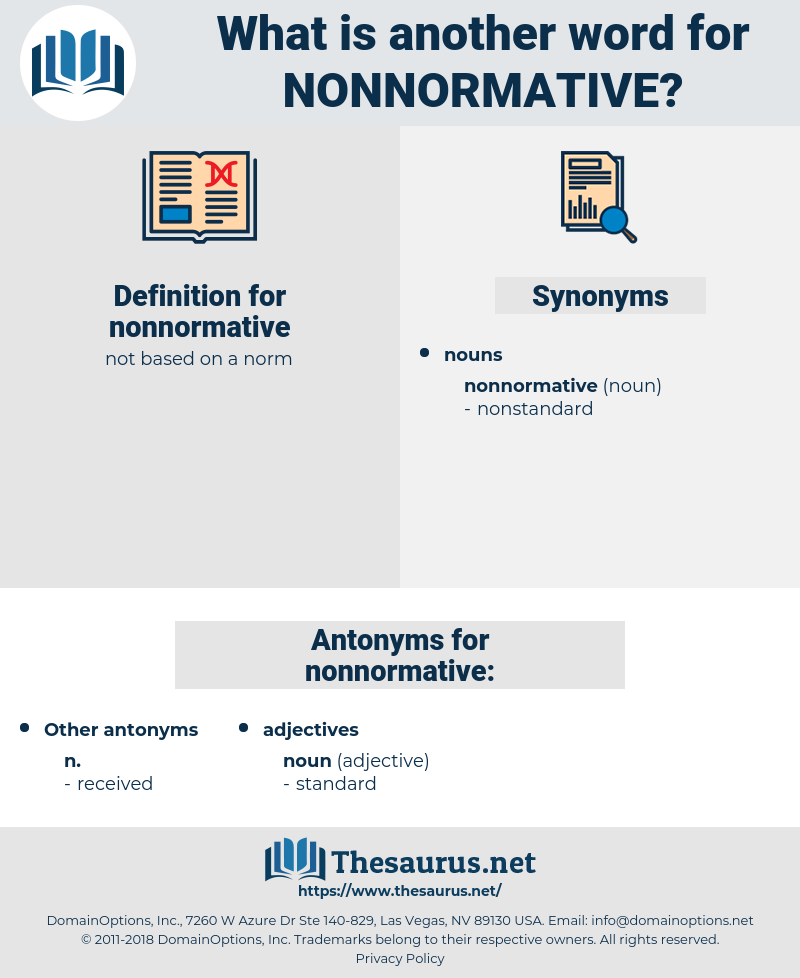 nonnormative, synonym nonnormative, another word for nonnormative, words like nonnormative, thesaurus nonnormative