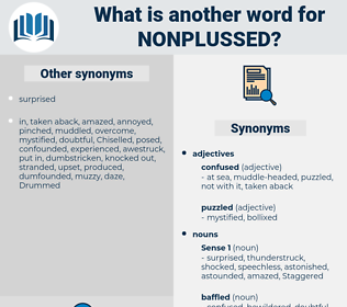 nonplussed, synonym nonplussed, another word for nonplussed, words like nonplussed, thesaurus nonplussed