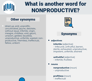 nonproductive, synonym nonproductive, another word for nonproductive, words like nonproductive, thesaurus nonproductive