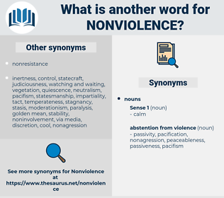 nonviolence, synonym nonviolence, another word for nonviolence, words like nonviolence, thesaurus nonviolence