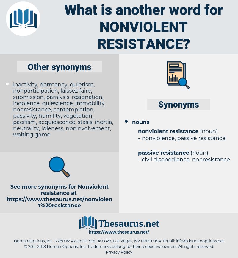 nonviolent resistance, synonym nonviolent resistance, another word for nonviolent resistance, words like nonviolent resistance, thesaurus nonviolent resistance