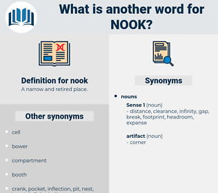 nook, synonym nook, another word for nook, words like nook, thesaurus nook