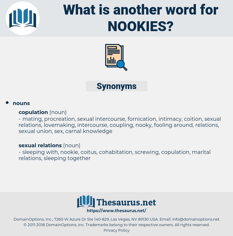 nookies, synonym nookies, another word for nookies, words like nookies, thesaurus nookies