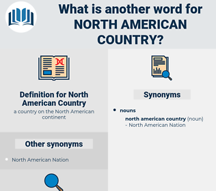 North American Country, synonym North American Country, another word for North American Country, words like North American Country, thesaurus North American Country