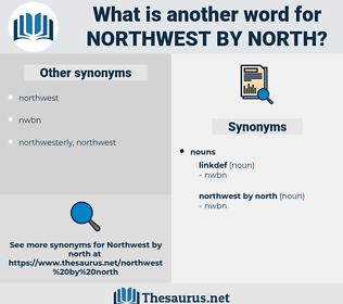 northwest by north, synonym northwest by north, another word for northwest by north, words like northwest by north, thesaurus northwest by north