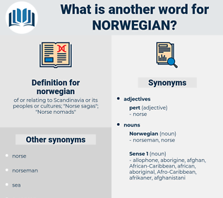 norwegian, synonym norwegian, another word for norwegian, words like norwegian, thesaurus norwegian