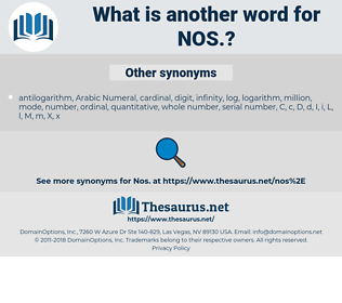 NOS, synonym NOS, another word for NOS, words like NOS, thesaurus NOS