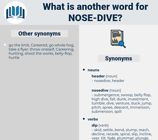 nose dive, synonym nose dive, another word for nose dive, words like nose dive, thesaurus nose dive