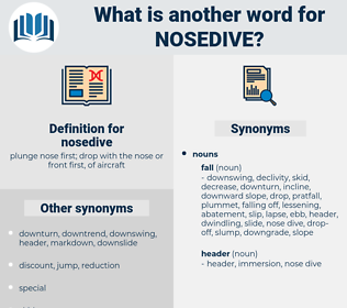 nosedive, synonym nosedive, another word for nosedive, words like nosedive, thesaurus nosedive