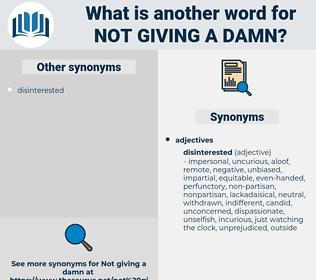 not giving a damn, synonym not giving a damn, another word for not giving a damn, words like not giving a damn, thesaurus not giving a damn