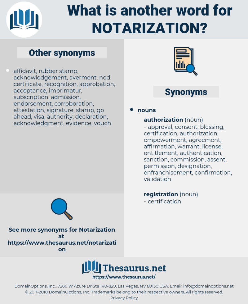 notarization, synonym notarization, another word for notarization, words like notarization, thesaurus notarization