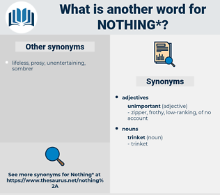 nothing, synonym nothing, another word for nothing, words like nothing, thesaurus nothing