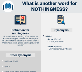 nothingness, synonym nothingness, another word for nothingness, words like nothingness, thesaurus nothingness
