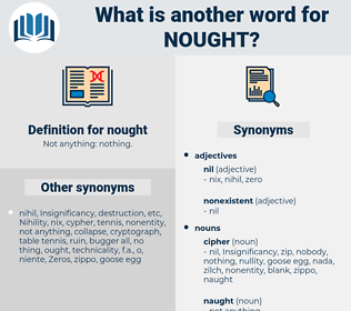 nought, synonym nought, another word for nought, words like nought, thesaurus nought