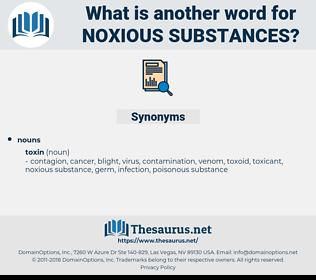 noxious substances, synonym noxious substances, another word for noxious substances, words like noxious substances, thesaurus noxious substances