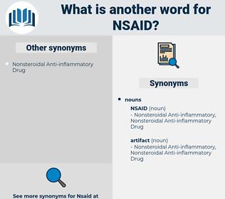 nsaid, synonym nsaid, another word for nsaid, words like nsaid, thesaurus nsaid