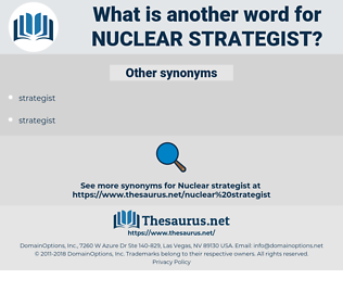 nuclear strategist, synonym nuclear strategist, another word for nuclear strategist, words like nuclear strategist, thesaurus nuclear strategist