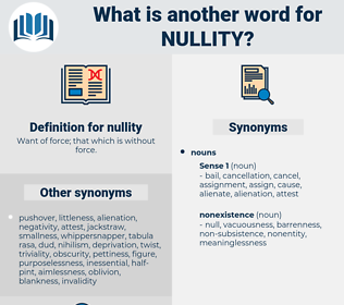 nullity, synonym nullity, another word for nullity, words like nullity, thesaurus nullity