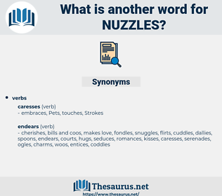 nuzzles, synonym nuzzles, another word for nuzzles, words like nuzzles, thesaurus nuzzles