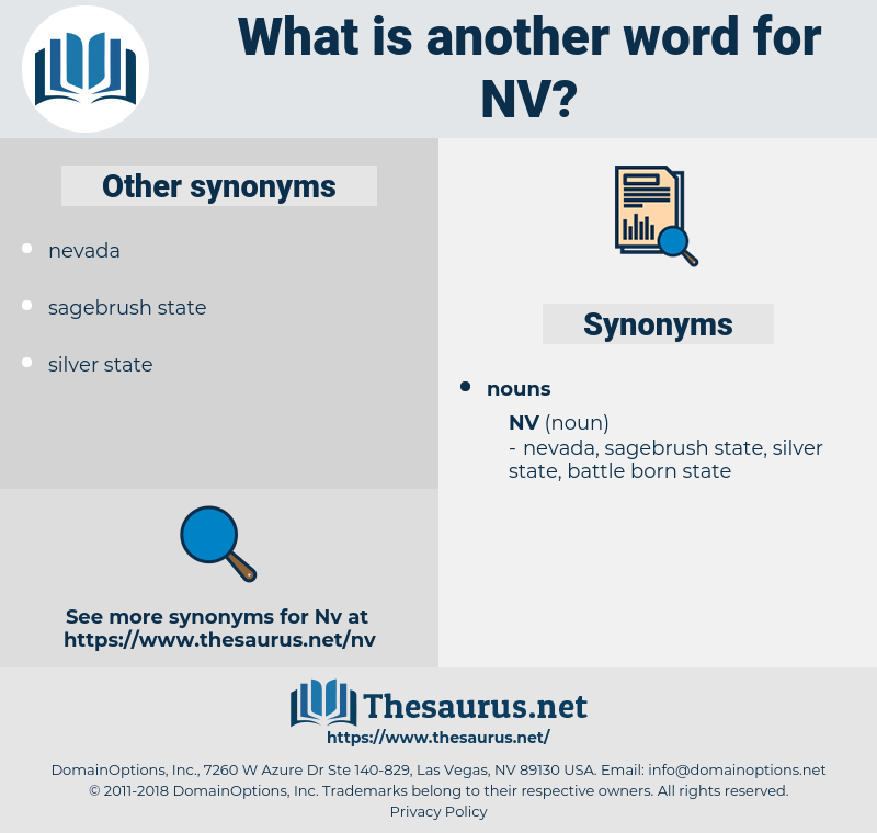 nv, synonym nv, another word for nv, words like nv, thesaurus nv