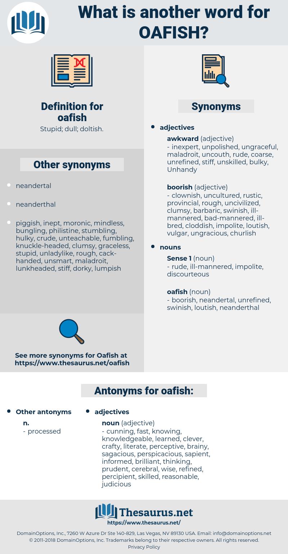 oafish, synonym oafish, another word for oafish, words like oafish, thesaurus oafish