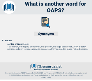 OAPS, synonym OAPS, another word for OAPS, words like OAPS, thesaurus OAPS