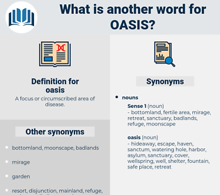 oasis, synonym oasis, another word for oasis, words like oasis, thesaurus oasis