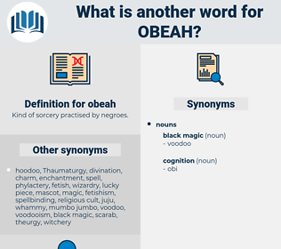obeah, synonym obeah, another word for obeah, words like obeah, thesaurus obeah