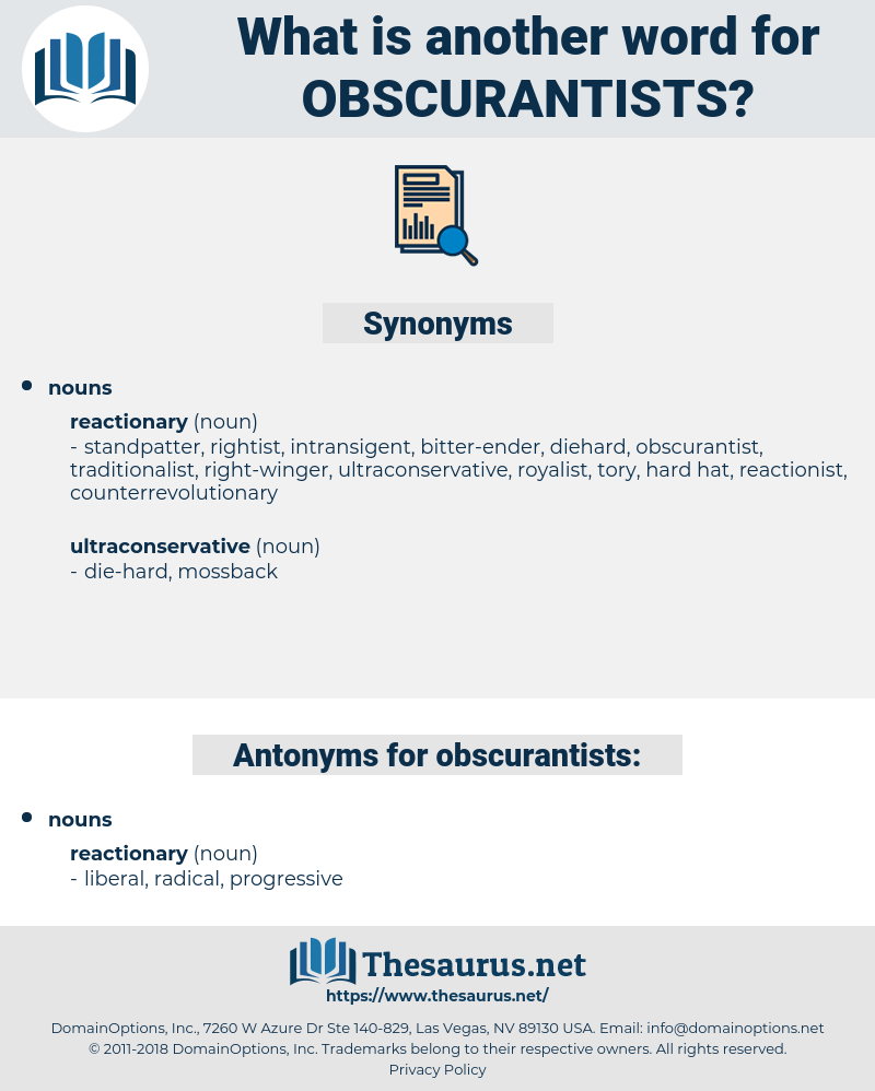 obscurantists, synonym obscurantists, another word for obscurantists, words like obscurantists, thesaurus obscurantists
