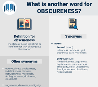 obscureness, synonym obscureness, another word for obscureness, words like obscureness, thesaurus obscureness