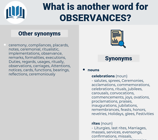 observances, synonym observances, another word for observances, words like observances, thesaurus observances