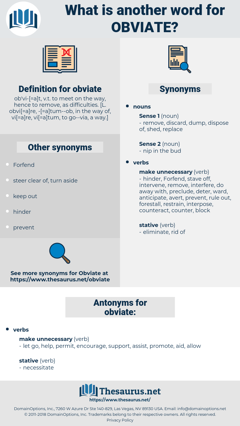 obviate, synonym obviate, another word for obviate, words like obviate, thesaurus obviate