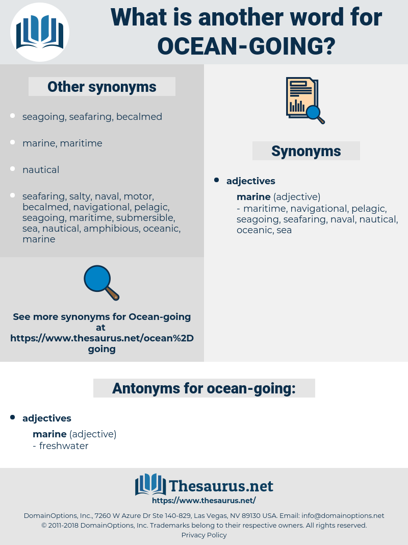 ocean-going, synonym ocean-going, another word for ocean-going, words like ocean-going, thesaurus ocean-going
