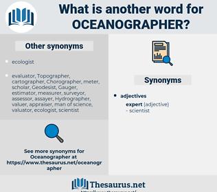 oceanographer, synonym oceanographer, another word for oceanographer, words like oceanographer, thesaurus oceanographer