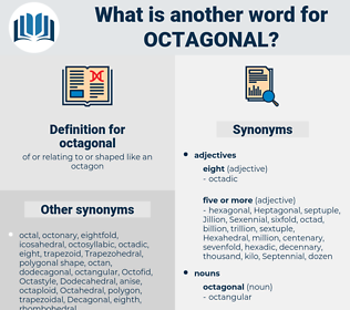 octagonal, synonym octagonal, another word for octagonal, words like octagonal, thesaurus octagonal
