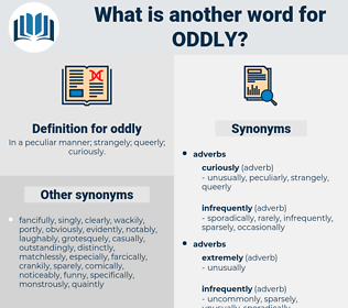 oddly, synonym oddly, another word for oddly, words like oddly, thesaurus oddly