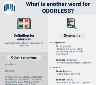 odorless, synonym odorless, another word for odorless, words like odorless, thesaurus odorless