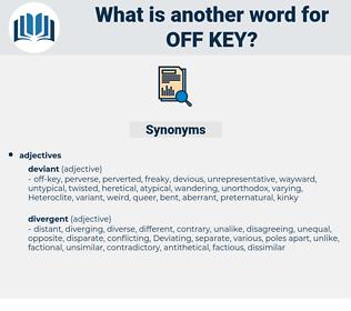 off-key, synonym off-key, another word for off-key, words like off-key, thesaurus off-key