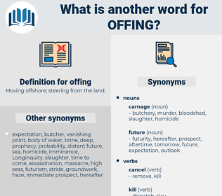 offing, synonym offing, another word for offing, words like offing, thesaurus offing