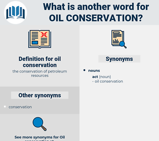 oil conservation, synonym oil conservation, another word for oil conservation, words like oil conservation, thesaurus oil conservation