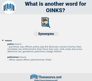 oinks, synonym oinks, another word for oinks, words like oinks, thesaurus oinks