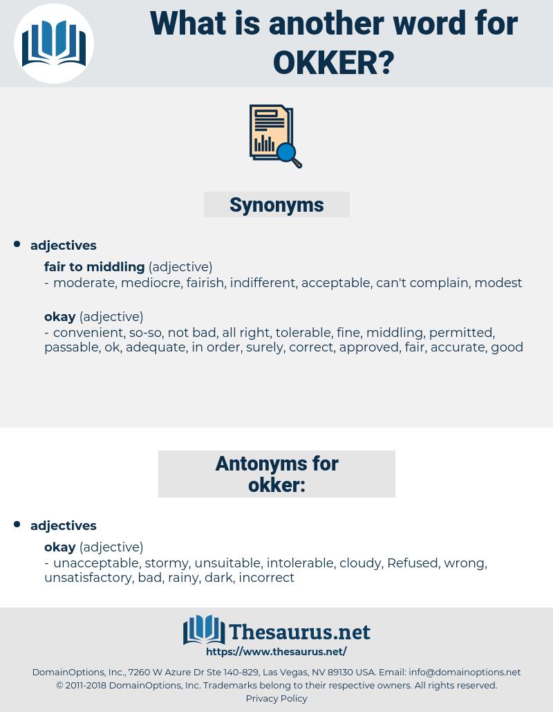 okker, synonym okker, another word for okker, words like okker, thesaurus okker