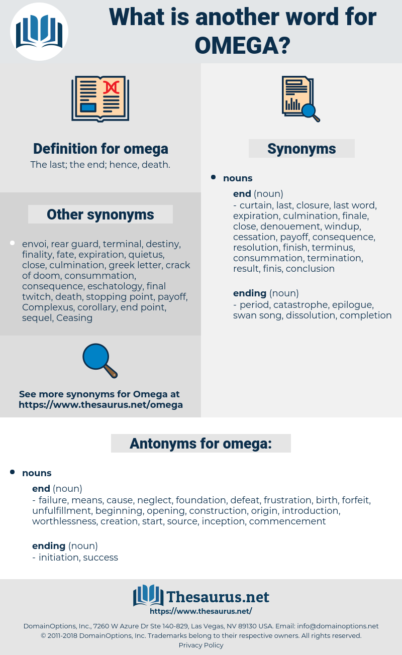 omega, synonym omega, another word for omega, words like omega, thesaurus omega