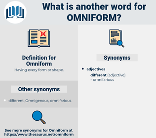 Omniform, synonym Omniform, another word for Omniform, words like Omniform, thesaurus Omniform