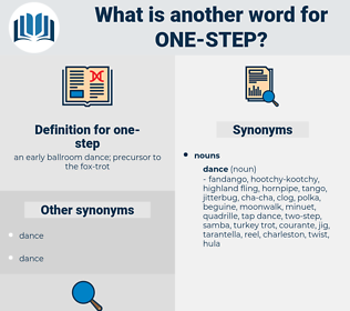 one-step, synonym one-step, another word for one-step, words like one-step, thesaurus one-step