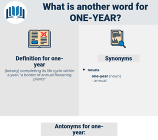 one-year, synonym one-year, another word for one-year, words like one-year, thesaurus one-year