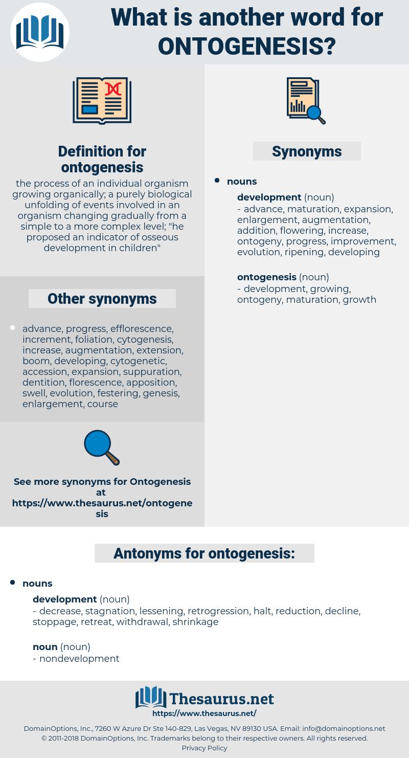 ontogenesis, synonym ontogenesis, another word for ontogenesis, words like ontogenesis, thesaurus ontogenesis