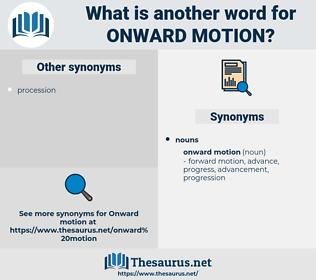 onward motion, synonym onward motion, another word for onward motion, words like onward motion, thesaurus onward motion