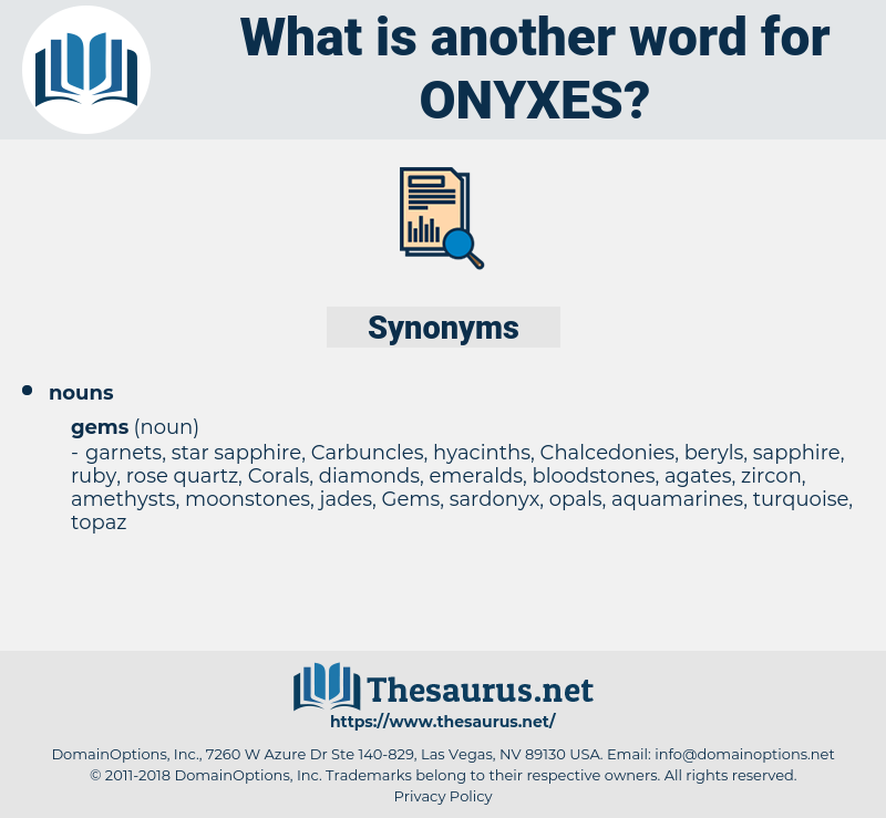 onyxes, synonym onyxes, another word for onyxes, words like onyxes, thesaurus onyxes