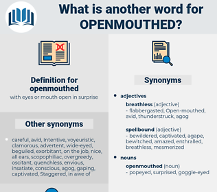 openmouthed, synonym openmouthed, another word for openmouthed, words like openmouthed, thesaurus openmouthed